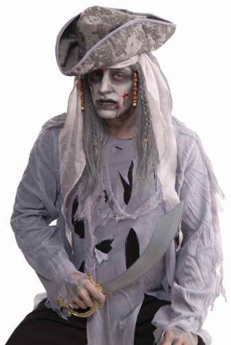 Forum Novelties Zombie Pirate Wig