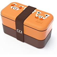 Monbento 3760192682152 MB Original Panda Roo Bento Lunch Box, Orange