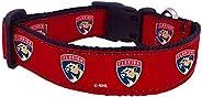 NHL Unisex NHL Florida Panthers Dog Collar