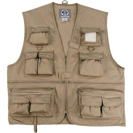 Uncle Milty Khaki Travel Vest - 2