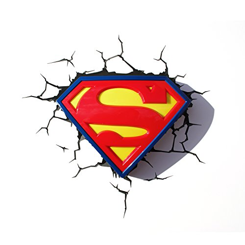 3DLightFX Super Man Logo Light product image