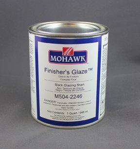 - Finisher's Glaze Burnt Umber Qt