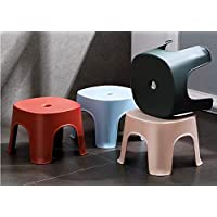 Plastic Stool Household Bathroom Bench Stool Anti-Skid Plastic Stool Thickened Multipurpose Chair for Living Room…