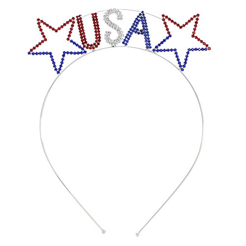 Rosemarie Collections Women's USA Stars Patriotic Tiara - Macy's Sale Usa