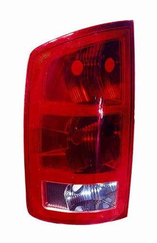 Depo 334-1906L-US Dodge Driver Side Replacement Taillight (Unit Left Driver)