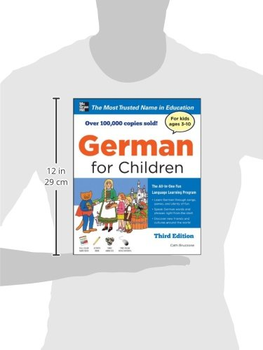 German for Children with Two Audio CDs, Third Edition by McGraw-Hill (Image #1)