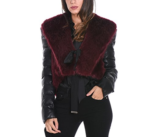 Poliestere Mangano Donna Outerwear Nero Giacca Pmng001430304 ZqqI7v