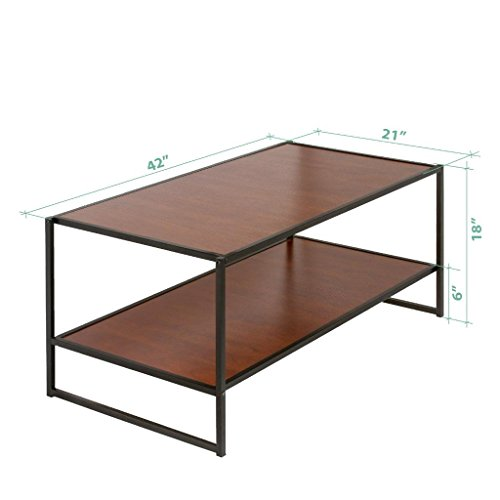 Zinus modern studio collection deluxe rectangular coffee for Coffee tables uae