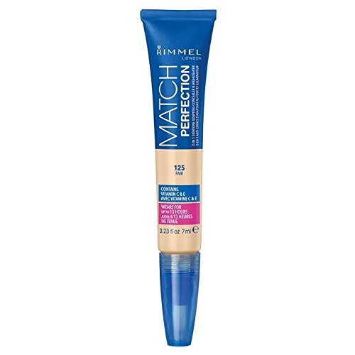 Rimmel Match Perfection 2-in-1 Concealer and Highlighter, Fair