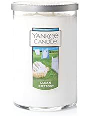 Yankee Candle Large 2-Wick Tumbler Candle, Clean Cotton®