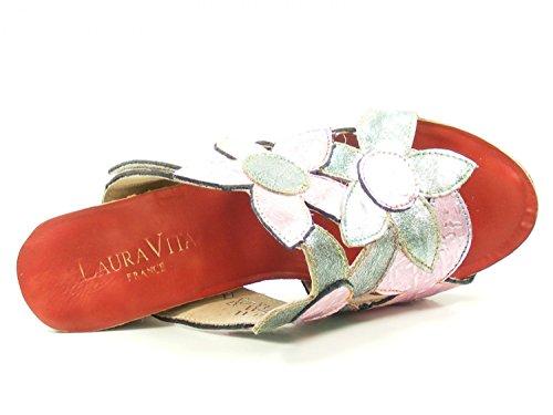 Laura Vita Ladies Dax 11 Pantolettes Rosa