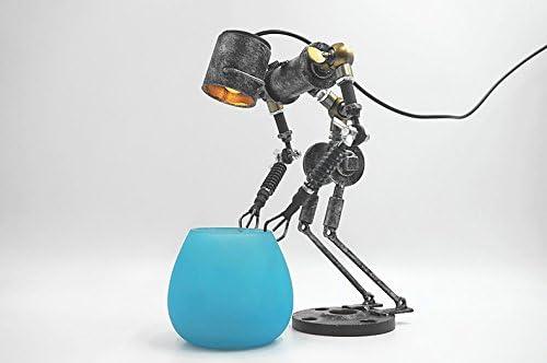 jrbb Cobblestone adornos lámparas de hierro de Personalità Creative bar-caffetteria decorada Sylvia Tay de manualidades Wind Condotti de luz: Amazon.es: Iluminación