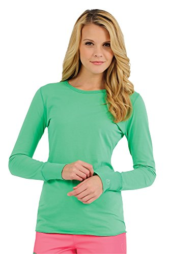 UPC 649639160060, Med Couture Uniforms Women's Long Sleeve Underscrub (Key Lime, Small) ...