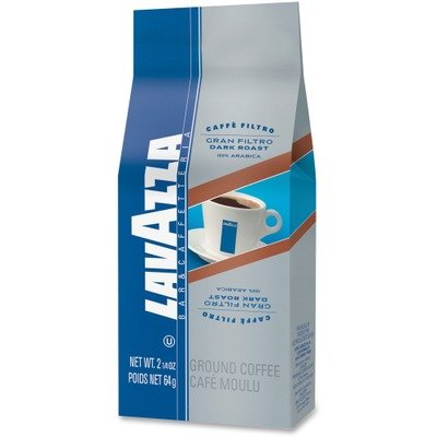 Lavazza LAV2431 Bar/Cafeteria Gran Filtro Dark Roast Ground Coffee
