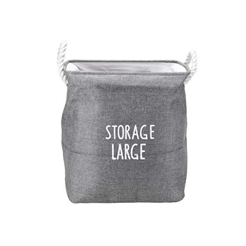 Asteria-Ashley Laundry Basket Dirty Barrel Folding Toy Storage