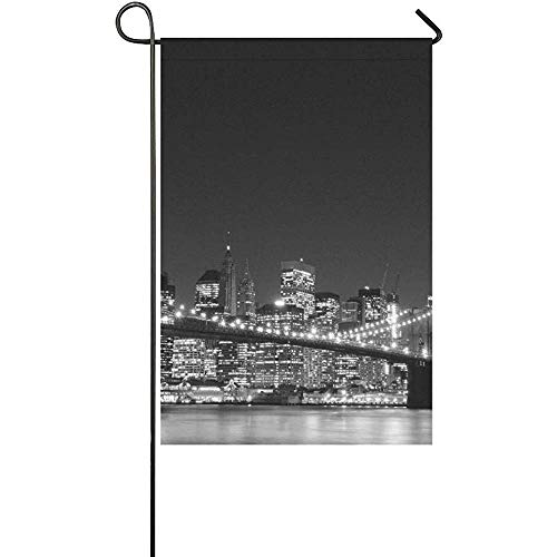 Home Decorative Outdoor Double Sided Brooklyn Bridge and