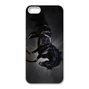 White Horse Hight Quality Plastic Case for Iphone 5s