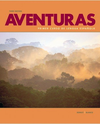 Aventuras workbook/video manual w/ vText and Supersite Code