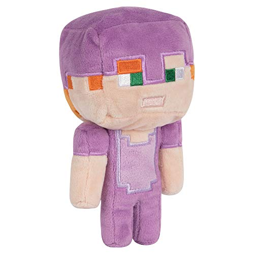 "JINX Minecraft Happy Explorer Enchanted Alex Plush Stuffed Toy, Multi-Colored, 7"" Tall"