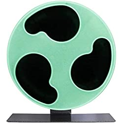 """Exotic Nutrition Silent Runner Glow Wheel - 12"""" Regular - Exercise Wheel for Sugar Gliders, Rats, Hamsters, Mice"""
