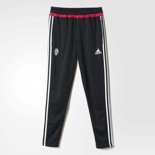 adidas Juve TRG-Pantaloni da uomo, colore: Nero/Bianco/rosa