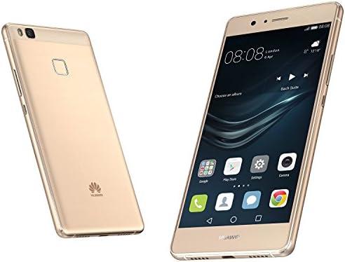 Huawei P9 Lite 16GB VNS-L21 Dual-SIM Factory Unlocked Smartphone - International Version with No Warranty (Gold)