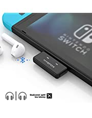 Bluetooth Adapter für Nintendo Switch, Vivefox Bluetooth 5.0 USB C Audio Transmitter Plug and Play APTX Low Latency für AirPods Bose Sony und Bluetooth Kopfhörer am PC PS4 Laptop Nintendo Switch