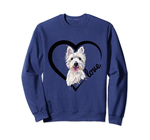 (I Love My Westie Tshirt, Westie Shirt, West Highland Terrier)