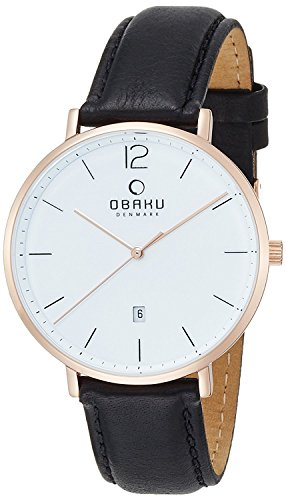 OBAKU watch 3 hands V181GDVWRB Men's [regular imported goods]