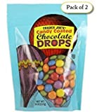 Trader Joe's Candy Coated Chocolate Drops, 8oz (Pack of 2)