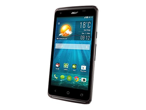 Acer 4.5″ MediaTek 1.3GHz 1 GB Ram 8 GB HDD Android 4.4 KitKat|Liquid Z410 Black (Certified Refurbished)