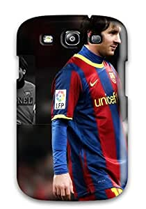 Hot VcJjpFo380KcvNe Case Cover Protector For Galaxy S3- Tops By Lionel Messi