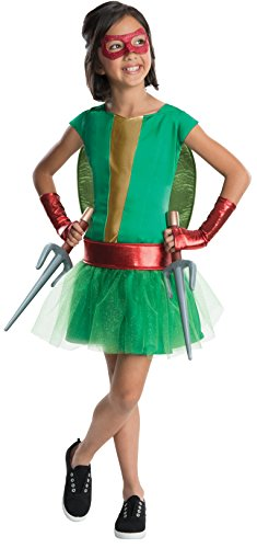 Rubies Teenage Mutant Ninja Turtles Deluxe Raphael Tutu Dress Costume, Child Small