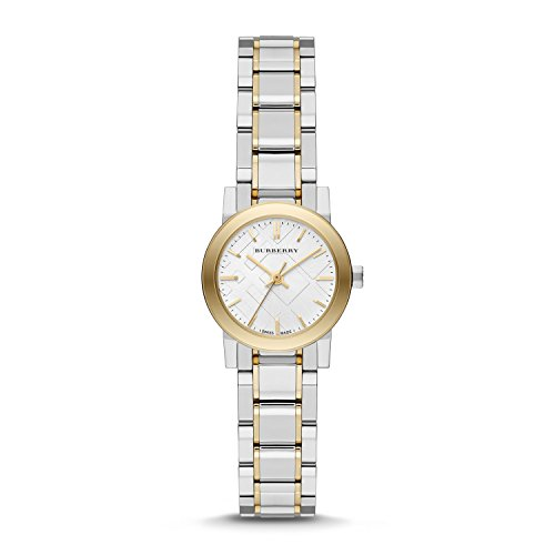 Burberry-Silver-Dial-Two-tone-Stainless-Steel-Ladies-Watch-BU9217