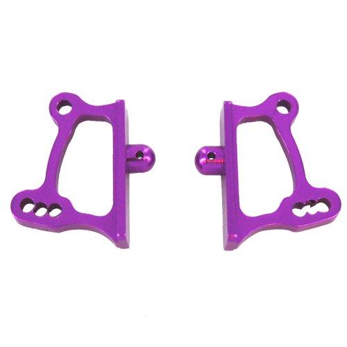 Redcat Racing Aluminum Adjustable Wing Mounts (2 Piece), Purple