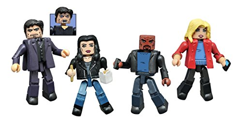 Diamond Select Toys Marvel Minimates: Jessica Jones Series 1 Action Figure Box Set