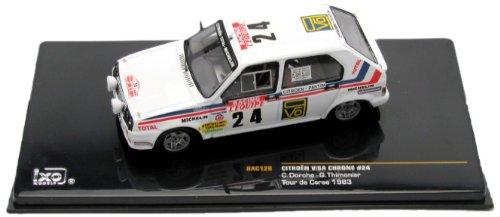 1/43 シエトロン ヴィザクロノ 1983年 ツール・ド・コルス #24 ドライバー:C.Dorche/G.Thimonier 「クラシックラリーカーシリーズ」 RAC128