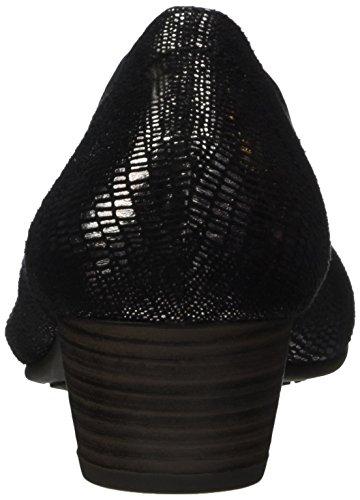 Softline Damen 22361 Pumps schwarz (black met stru)