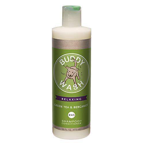 Cloud Star Buddy Wash Dog Shampoo and Conditioner, 16oz, Green Tea & Bergamot ()