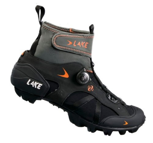 Lake MXZ303 Winter Boots Wide Men's Black, 42.0