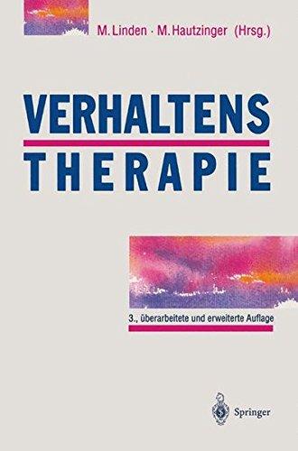 Verhaltenstherapie: Techniken, Einzelverfahren und Behandlungsanleitungen