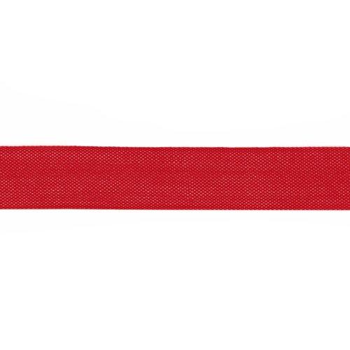 Silk Bias Tape (Hug Snug 1/2'' Rayon Seam Binding Lipstick Red/100 YDS)