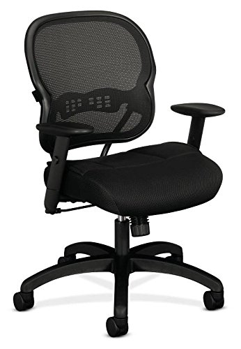 basyx-by-HON-VL712-Mid-Back-Chair-with-Adjustable-Arms-for-Office-or-Computer-Desk-Black