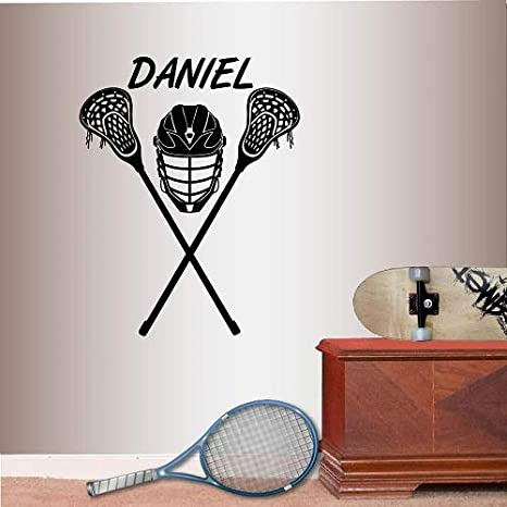 Amazon.com: Pegatina Vinilo Home Decor Pared De Lacrosse ...