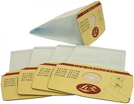Lux 5 Bolsas Originales para aspiradora Modelos D748, D750, D768, D770, D775, D780, D790 y D795: Amazon.es: Hogar
