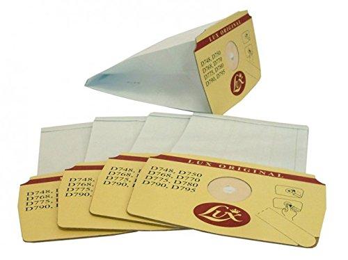 D770 D750 Lux 5 Bolsas Originales para aspiradora Modelos D748 D775 D768 D780 D790 y D795