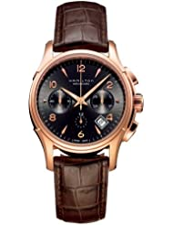 Hamilton Mens HML-H32646595 Jazzmaster Brown Dial Watch
