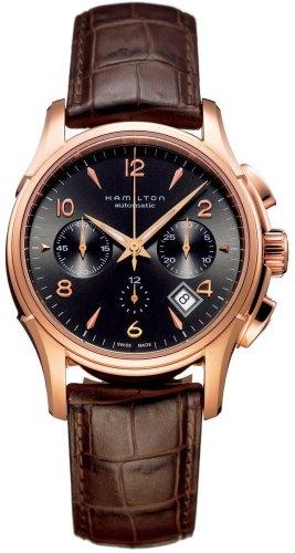 Hamilton Men's HML-H32646595 Jazzmaster Brown Dial Watch