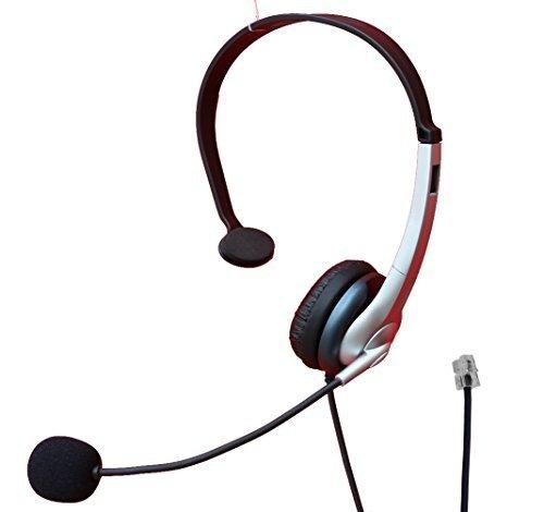 Voistek Call Center Telephone Headset for Adtran IP phone IP321 331 430 450 650 670 and Altigen 500 510 600 705 710 720 805 and Mitel 4330 NEC DT300 DSX Aspire