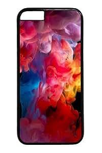 Case For Sam Sung Galaxy S4 Mini Cover Colored Smoke Paint PC Hard Plastic Case For Sam Sung Galaxy S4 Mini Cover inch Black